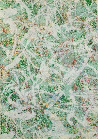 Sam Gilliam, 'Dark Green Marathon', 2003