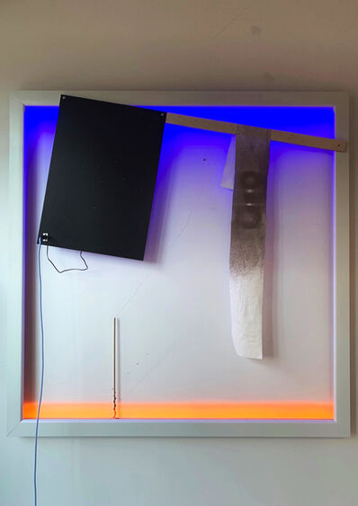 Haroon Mirza, 'Virgin gives birth to the Sun (04:59)', 2019
