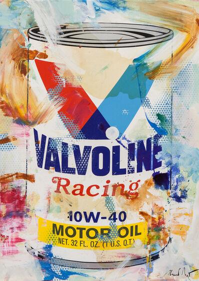 Heiner Meyer, 'Oil on Canvas VALVOLINE II', 2017