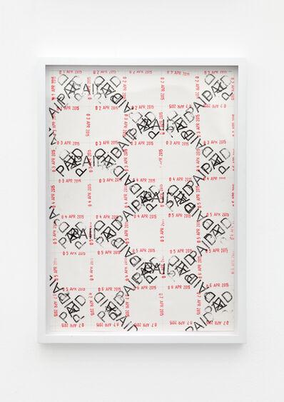 Amalia Pica, 'Joy in Paperwork #2', 2015