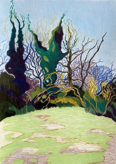 Per Adolfsen, 'Curly Trees', 2020