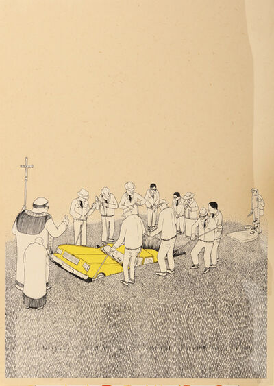 Blu, 'Funeral', 2007