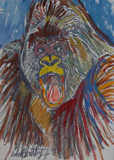 John Bratby, 'Guy the gorilla', ca. 1975
