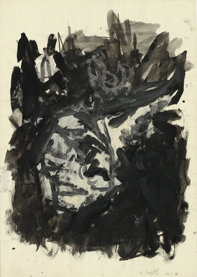 Georg Baselitz, 'n.t. (Head)', 1979
