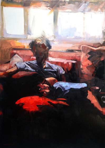 Miguel Ángel Garrido, 'Autorretrato como papá', 2015
