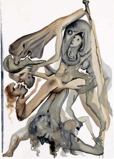 Salvador Dalí, 'Hell Canto 11 (The Divine Comedy)'