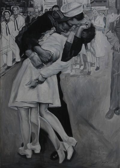 Angel Peychinov, 'The Kiss', 2018
