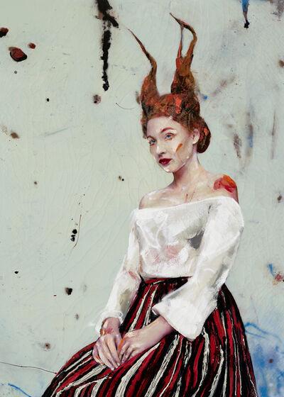 Lita Cabellut, 'Lucia03', 2017