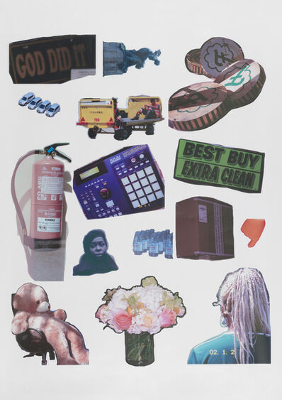 Martine Syms, 'Threat Model Sticker Collection', 2018