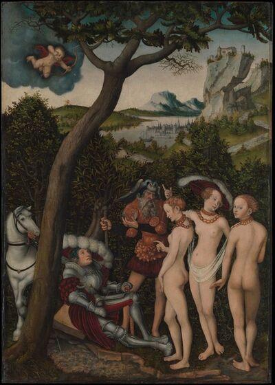 Lucas Cranach the Elder, 'The Judgment of Paris', ca. 1528