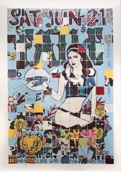 FAILE, 'Live Brighton Beach', 2010