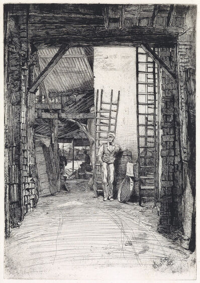 James A. M. Whistler, 'The Lime-Burner', 1859