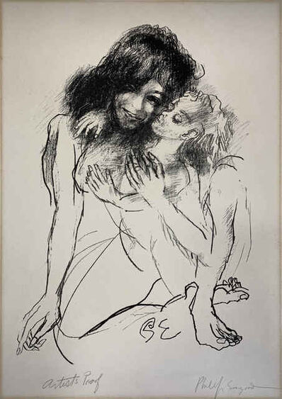 Philip Evergood, 'Mother and Child', ca. 1966