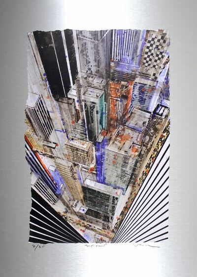Gottfried Salzmann, 'New York Crossroad', 2016