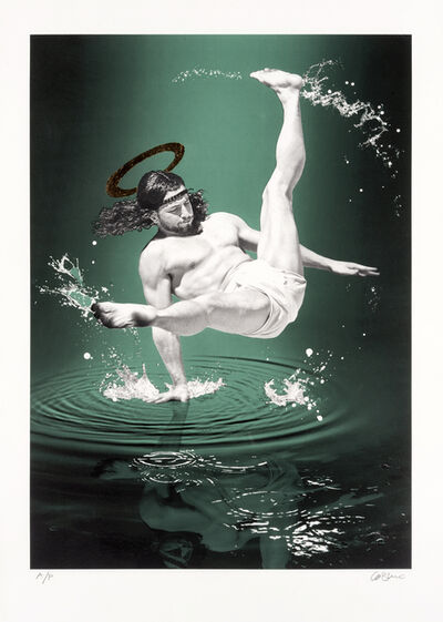 Cosmo Sarson, 'Breakdancing Jesus – On Water', 2015