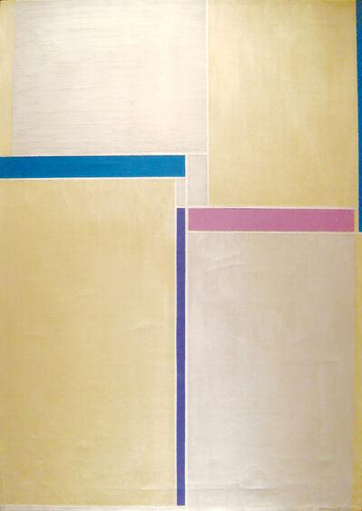 Ilya Bolotowsky, 'Naples Yellow & Grey', 1958