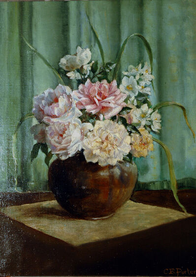 Charles Ethan Porter, 'Untitled Still Life with Flowers      '
