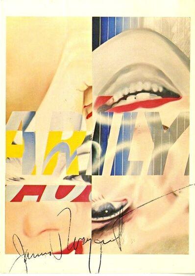 James Rosenquist, 'Marilyn Monroe (Hand Signed)', 1983