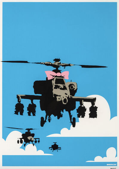 Banksy, 'Happy Choppers - Signed ', 2003