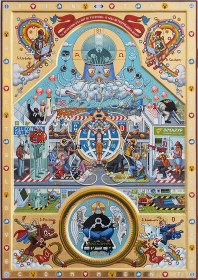Aleksandar Todorovic, 'Iconostasis of Connectivitism', 2018