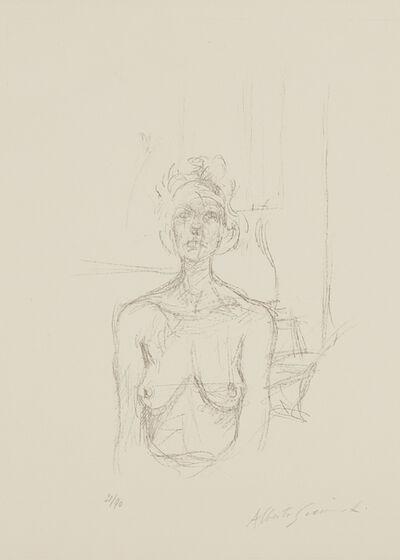 Alberto Giacometti, 'Buste I (Bust I)', 1960