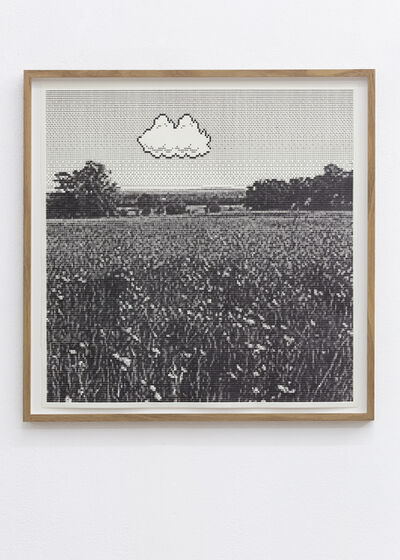 Arno Beck, 'Untitled (meadow with house)', 2019