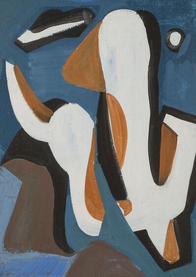 Vaclav Vytlacil, 'Geometric Figure', 1937