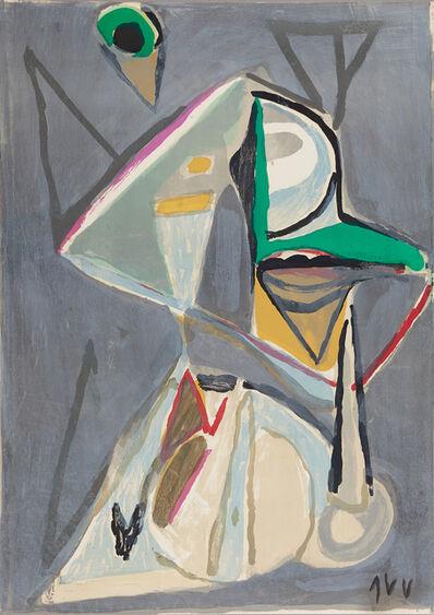 Bram van Velde, ' Composition Grise', ca. 1970