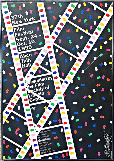 Ivan Chermayeff, 'Lincoln Center Film Festival Poster (Hand Signed)', 1999