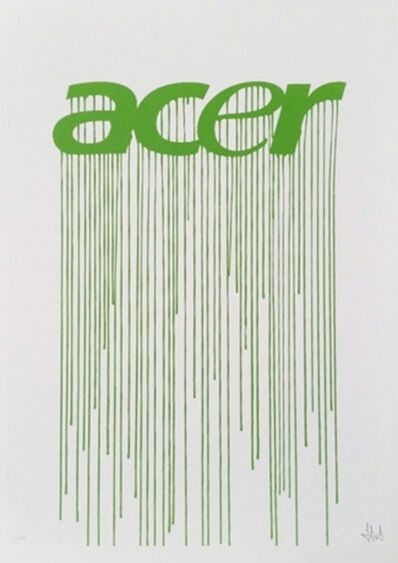Zevs, 'Liquidated Acer (from Liquidated London set)', 2012