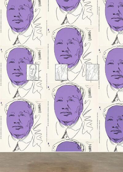 Andy Warhol, 'Set of 3 Unique Maos (F&S II. 89)', 1973