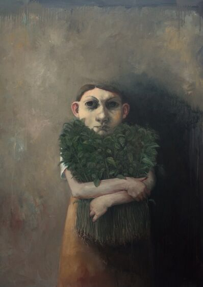 Bobbie Russon, 'Girl with Nettles', 2017