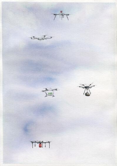 Micha Payer + Martin Gabriel, 'Drohnen #23', 2019