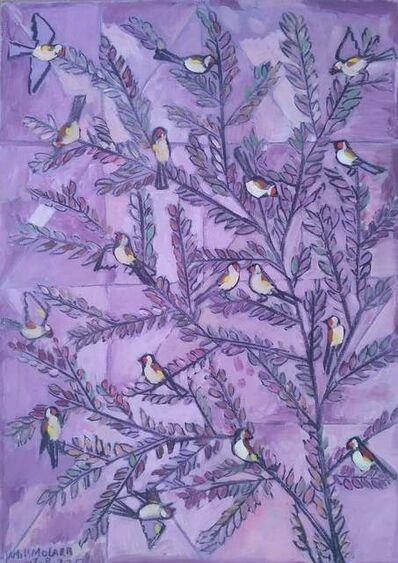 Jamil Molaeb, 'Purple', 2017