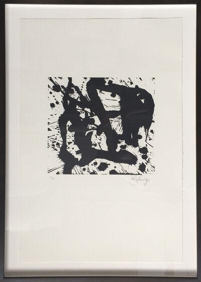 William Kentridge, 'Splash', 2010