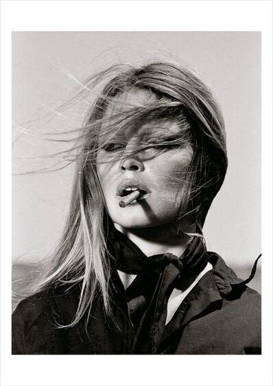Terry O'Neill, 'Brigitte Bardot with Cigar, Spain', 1971