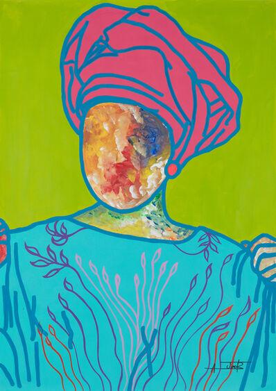 Ajarb Bernard Ategwa, 'Housa women', 2020
