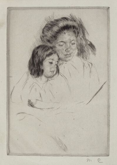 Mary Cassatt, 'The Picture Book (No. 1)', ca. 1901