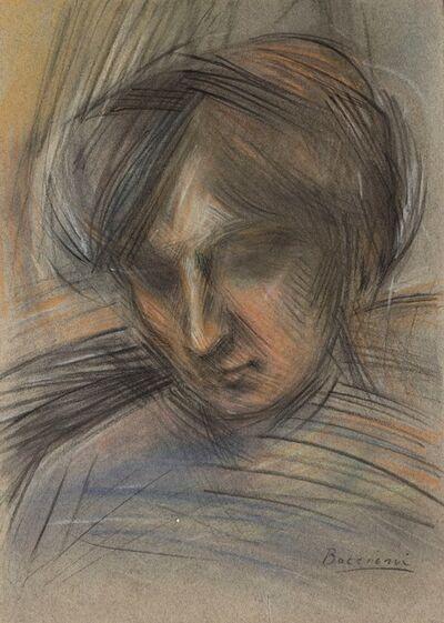 Umberto Boccioni, 'Testa femminile', 1908-1909
