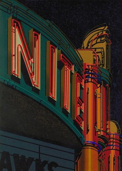 Robert Cottingham, 'Nite ', 2009
