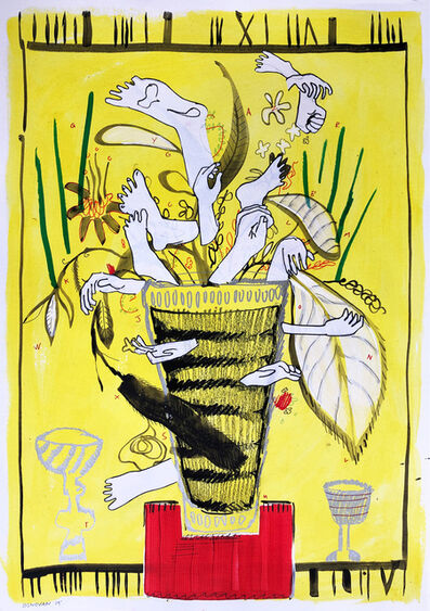 Chris Denovan, ' Body Plant Vase', 2020