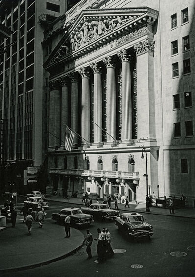 Marvin E. Newman, 'New York Stock Exchange', 1956