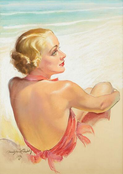 Bradshaw Crandell, 'Bathing Beauty (Carole Lombard)', ca. 1930