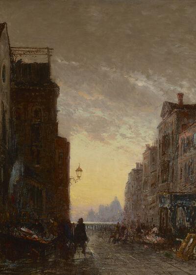 Felix Ziem, 'Market Place, Venise', 1816-1918