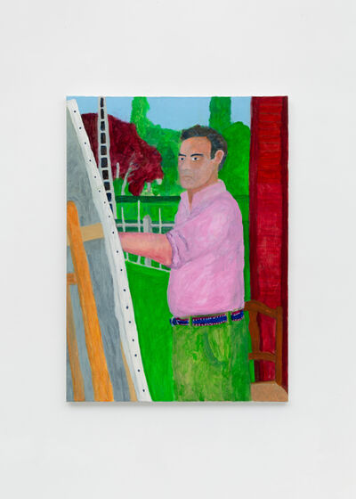 Charlie Scheips, 'Self Portrait, rue de la Fontaine', 2018
