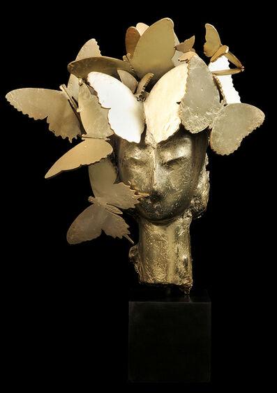 Manolo Valdés, 'Iris Dorada', 2013