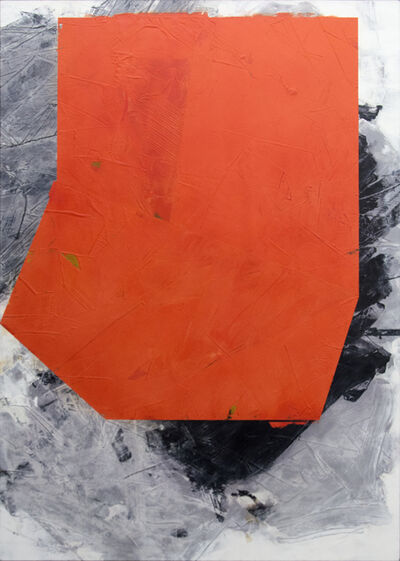 Ivo Stoyanov, 'Dark Orange No 22', 2015