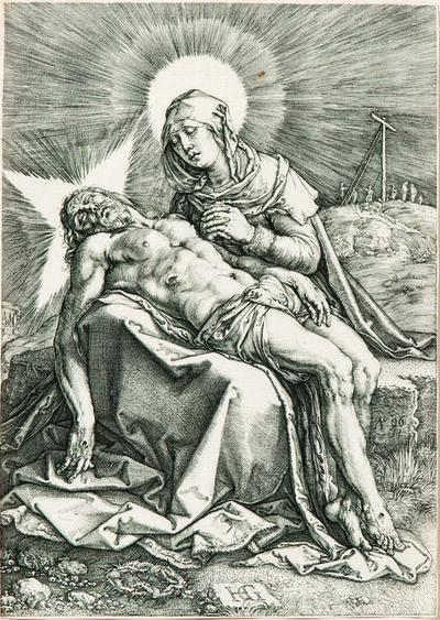 Hendrik Goltzius, 'Pietà', 1596