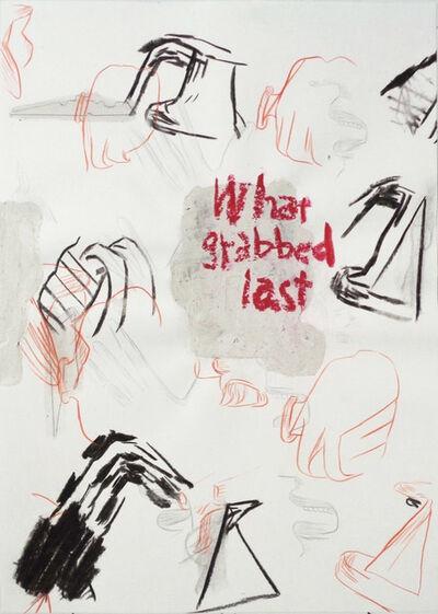 Moe Yoshida Veggetti, 'What grabbed last', 2018