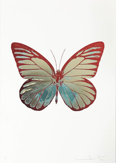 Damien Hirst, 'The Souls I, Grafixgold-Topaz-Chillired', 2010